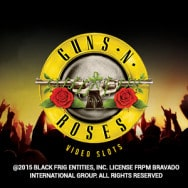 Guns n' Roses slot logo