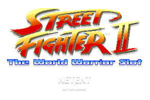 Street Fighter 2 Online Slot Logo