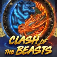Clash of the Beasts Spilleautomat logo