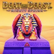 Beat the Beast: Mighty Sphinx Spilleautomat logo