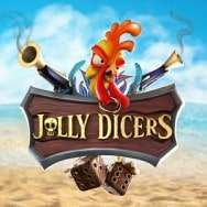 Jolly Dicers Spilleautomat logo