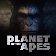 Planet of the Apes spilleautomat logo